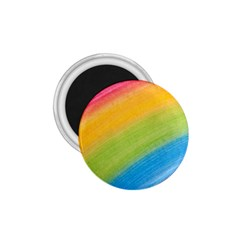 Acrylic Rainbow 1.75  Button Magnet