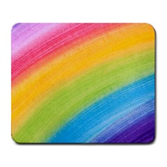Acrylic Rainbow Large Mouse Pad (Rectangle)
