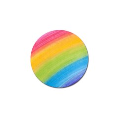 Acrylic Rainbow Golf Ball Marker 4 Pack