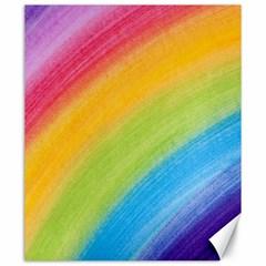 Acrylic Rainbow Canvas 20  x 24  (Unframed)