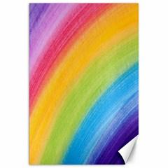 Acrylic Rainbow Canvas 20  x 30  (Unframed)