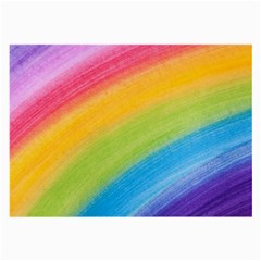 Acrylic Rainbow Glasses Cloth (large, Two Sided)