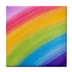Acrylic Rainbow Face Towel
