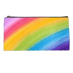 Acrylic Rainbow Pencil Case
