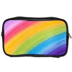 Acrylic Rainbow Travel Toiletry Bag (Two Sides)