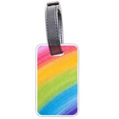 Acrylic Rainbow Luggage Tag (One Side)