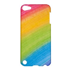 Acrylic Rainbow Apple iPod Touch 5 Hardshell Case