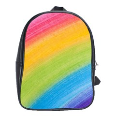 Acrylic Rainbow School Bag (XL)