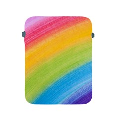 Acrylic Rainbow Apple iPad Protective Sleeve