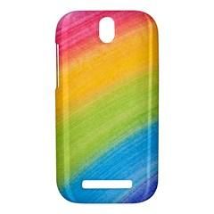 Acrylic Rainbow HTC One SV Hardshell Case
