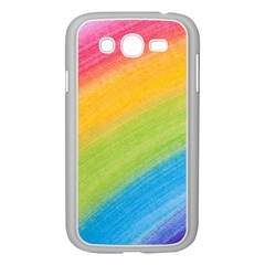 Acrylic Rainbow Samsung Galaxy Grand DUOS I9082 Case (White)