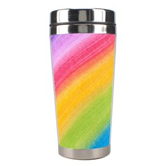 Acrylic Rainbow Stainless Steel Travel Tumbler