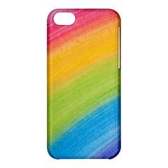 Acrylic Rainbow Apple Iphone 5c Hardshell Case
