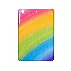Acrylic Rainbow Apple iPad Mini 2 Hardshell Case
