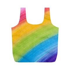 Acrylic Rainbow Reusable Bag (M)