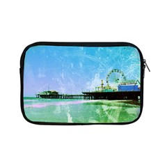 Blue Santa Monica Pier Apple iPad Mini Zippered Sleeve