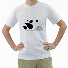 Panda Workout Ii Men s T Shirt (white)
