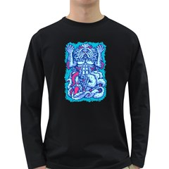 King From Deep Sea Men s Long Sleeve T Shirt (dark Colored)