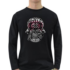 Undead Aquanaut Men s Long Sleeve T-shirt (Dark Colored)