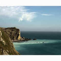 Dramatic Seaside Picture Canvas 8  x 10