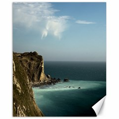 Dramatic Seaside Picture Canvas 16  x 20