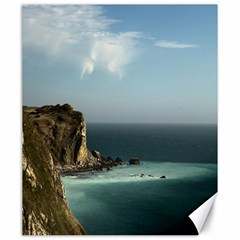 Dramatic Seaside Picture Canvas 20  x 24
