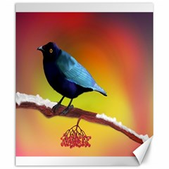 The Blue Bird Canvas 20  x 24
