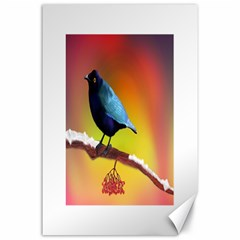 The Blue Bird Canvas 24  x 36