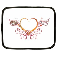 Love Music Netbook Case (large)