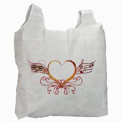 Love Music Recycle Bag (One Side)