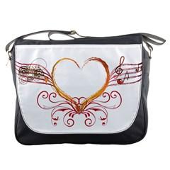 Love Music Messenger Bag