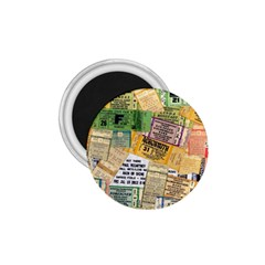 Retro Concert Tickets 1.75  Button Magnet