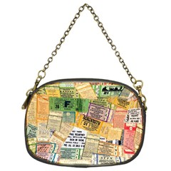 Retro Concert Tickets Chain Purse (one Side)