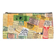 Retro Concert Tickets Pencil Case