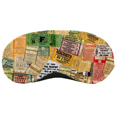 Retro Concert Tickets Sleeping Mask