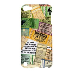 Retro Concert Tickets Apple Ipod Touch 5 Hardshell Case