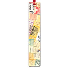 Retro Concert Tickets Large Bookmark