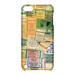 Retro Concert Tickets Apple Ipod Touch 5 Hardshell Case With Stand