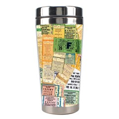 Retro Concert Tickets Stainless Steel Travel Tumbler