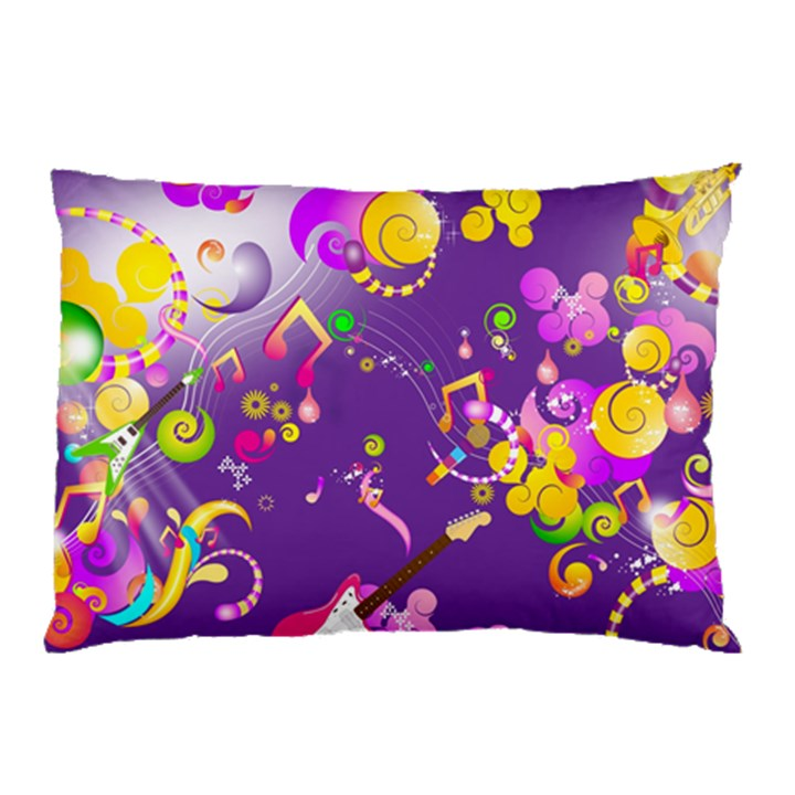Energy Of Music Pillow Case