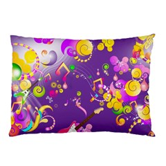 Energy Of Music Pillow Case (Two Sides)