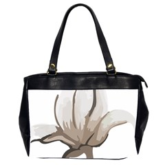 Flower Oversize Office Handbag (two Sides)