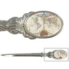1794 World Map Letter Opener