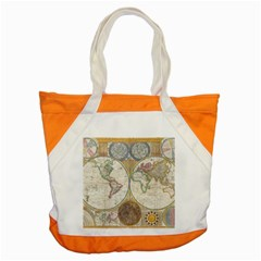 1794 World Map Accent Tote Bag