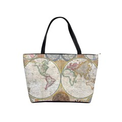 1794 World Map Large Shoulder Bag