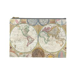 1794 World Map Cosmetic Bag (large)