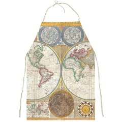 1794 World Map Apron