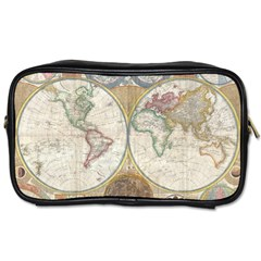 1794 World Map Travel Toiletry Bag (one Side)