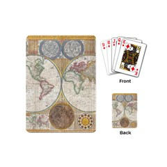 1794 World Map Playing Cards (Mini)