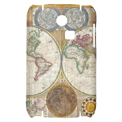 1794 World Map Samsung S3350 Hardshell Case